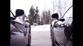 Крутой клип под песню.Бугатти машина.