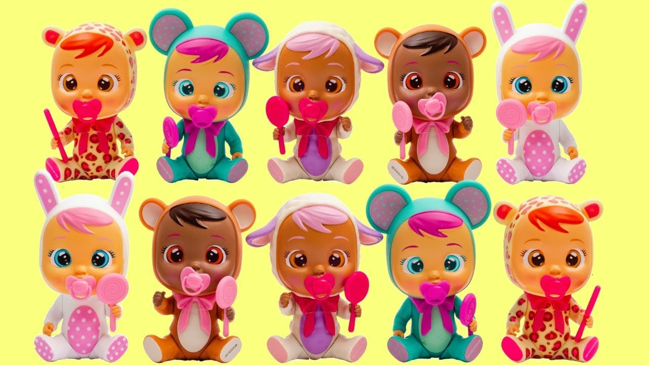 Download Unboxing Cry Babies Mini Magic Tears Dolls