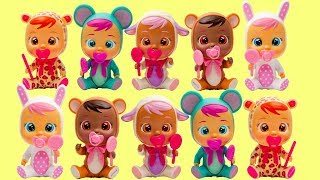 Cry Babies Mini Magic Tears - Cutest Dolls For Pretend Play Girls