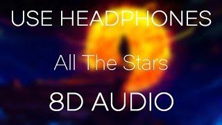 Kendrick Lamar, SZA - All The Stars (8D AUDIO & USE HEADPHONES)