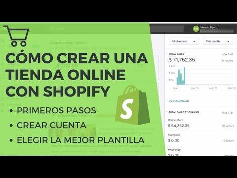 Cómo Crear Una Tienda Online Con Shopify Desde Cero | Primeros Pasos