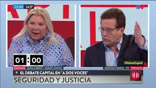 "Carrió ""responde"" sobre Santiago Maldonado - Debate Capital"