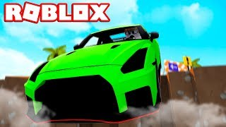 LARS FÄHRT WITH 1000kmh against the WAND! (DANGEROUS) - Roblox [English/HD]