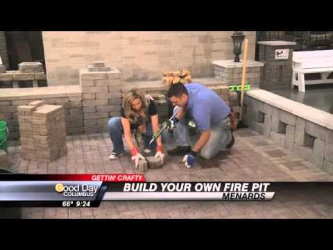 FRIDAY: Carolynu0027s Getting Crafty With Menards   Build Your Own Fire Pit    YouTube