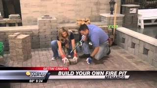 Friday: Carolyn's Getting Crafty With Menards - Build Your Own Fire Pit