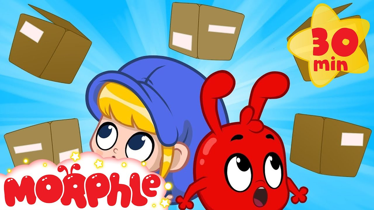 Morphle Delivery Service - My Magic Pet Morphle | Cartoons For Kids | Morphle TV | BRAND NEW
