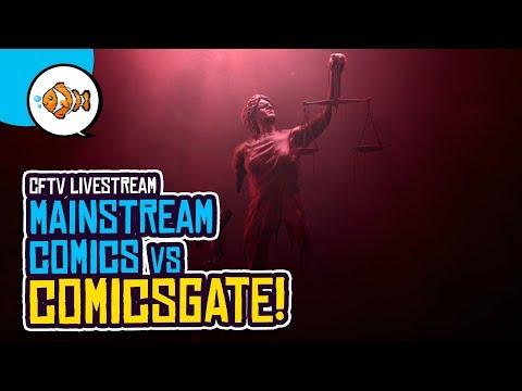 The Comic Book Industry vs. ComicsGate (or Mark Waid vs. Diversity & Comics)