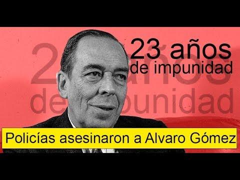 FISCALIA acepta que la POLICÍA DESAPARECIÓ testigos del caso  Alvaro Gómez Hurtado