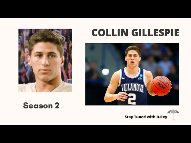 VILLANOVA GUARD COLLIN GILLESPIE on Stay Tuned with D.Rey