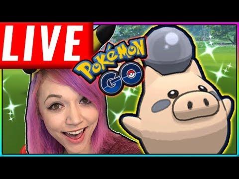 LIVE: LUCKY SHINY HUNT WEEKEND Pokémon GO Stream thumbnail