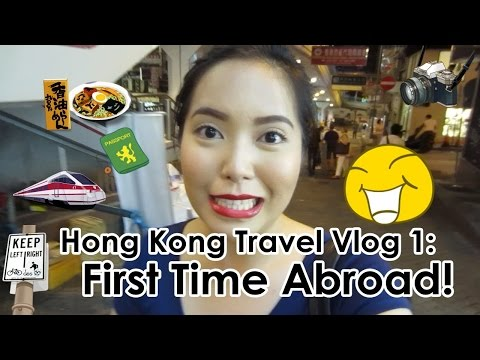 FIRST TIME ABROAD!!! Hong Kong Day 1 (July 19, 2014) - sayti