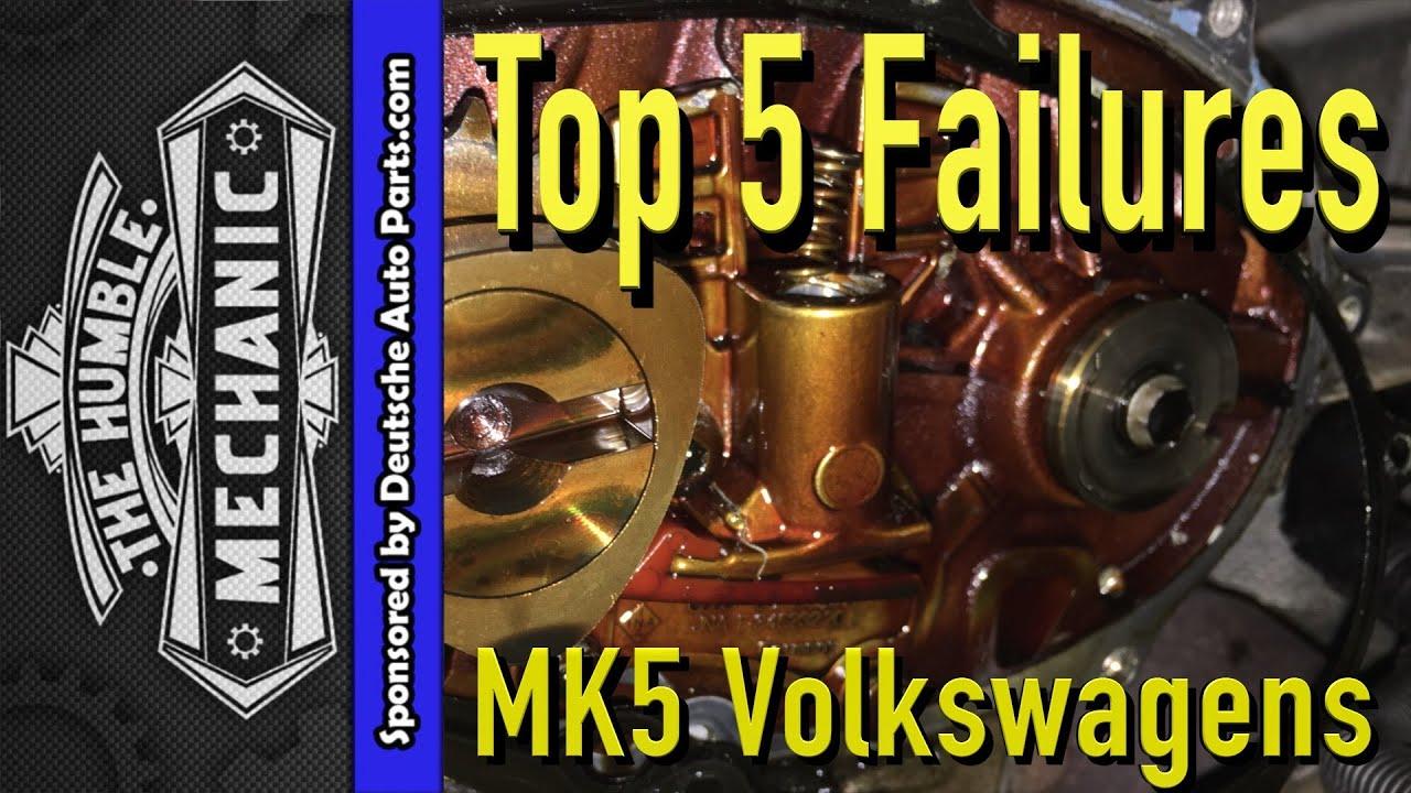 Top 5 Failures Of Mk5 Volkswagen Jetta Rabbit Gti Vr6 Parts Diagram Engine Car And Component Sportwagen