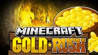 Minecraft | THE GREAT GOLD RUSH | Angry Undead Miners!