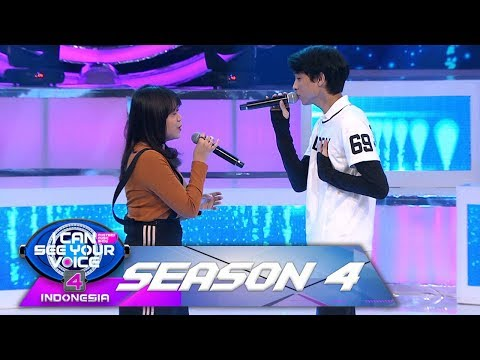 Romantis Banget! Devano Feat Brisia Jodie [SOULMATE]  - I Can See Your Voice Indonesia (8/2)