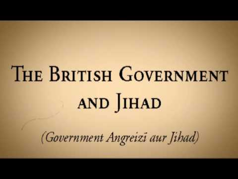 BRITISH GOVERNMENT AND JIHAD