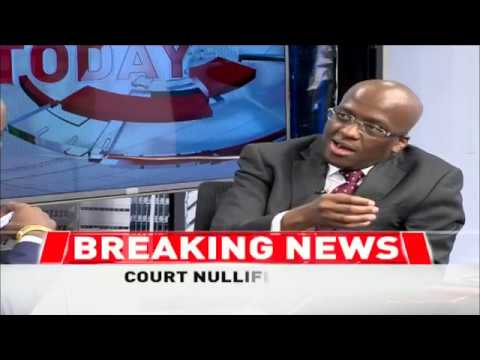 Interview with Polycarp Igathe moments before he resigned as deputy governor  - Part 1