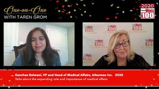 Kanchan Relwani, Alkermes Inc. – 2020 PharmaVOICE 100 Celebration