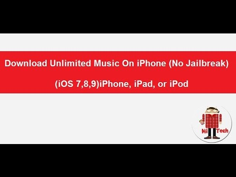 Download Unlimited Music On iPhone (No Jailbreak) (iOS 10,11) iPhone, iPad, or iPod