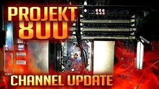 PROJEKT 800 | Das große Channel Update | Vlog Deutsch thumbnail