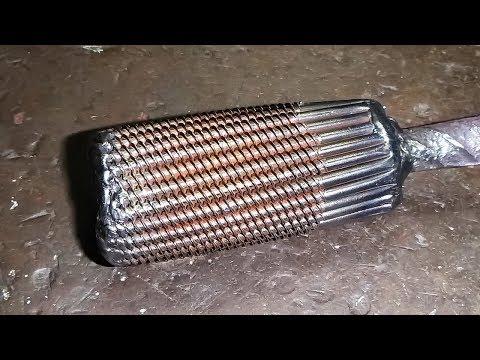 Damascus of screws,