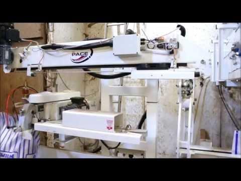 Pace Mechanical Handling Lt 2015 Complete Bag Control stitching paper sacks