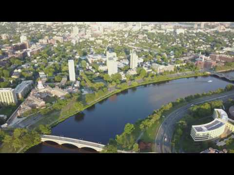 Charles River Boston Drone Footage (4K)