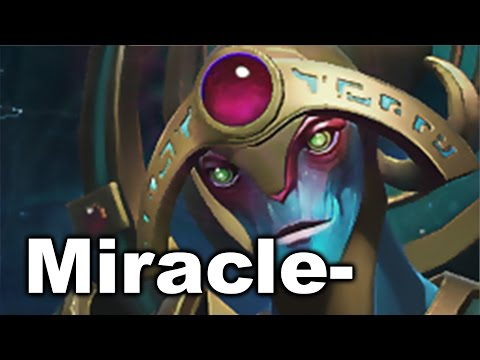 Miracle- Healer, Nuker, Support Oracle Dota 2