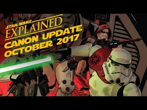 October 2017 Star Wars Canon Update