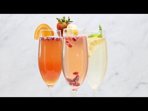 Mimosas 4 Ways