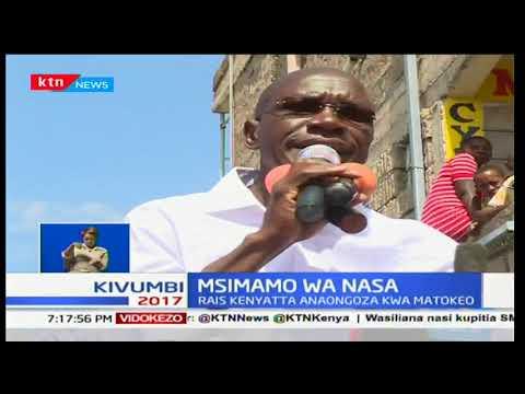 NASA watishia kuapisha Raila Odinga iwapo Rais Uhuru Kenyatta ataapishwa