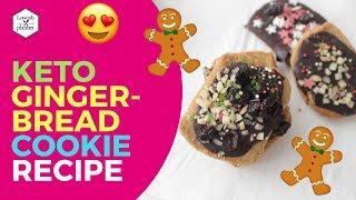 Keto Gingerbread Cookies 🎄
