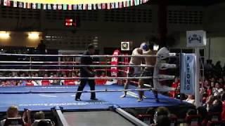 My Fight in Patong Muay Thai Stadium (Phuket) 4.12.2017