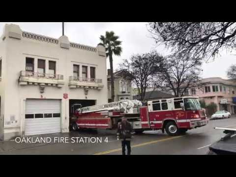 Oakland Firefighters 2017 Year in Review