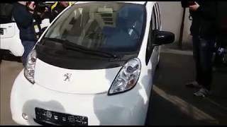 Primarul Sucevei, demonstratie cu masina electrica – 11 aprilie 2018