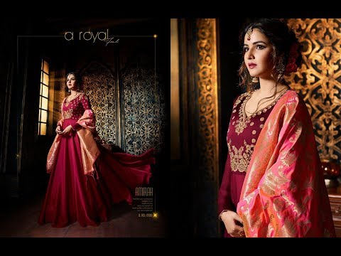 Latest Indian Anarkali Suits Dresses Collection 2018 || Amirah  Fashion || Amirah vol 10