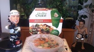 Healthy Choice Beef Teriyaki Cafe Steamers Review