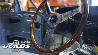 Finishing the Interior and Exterior of the Clarion Builds BMW 2002