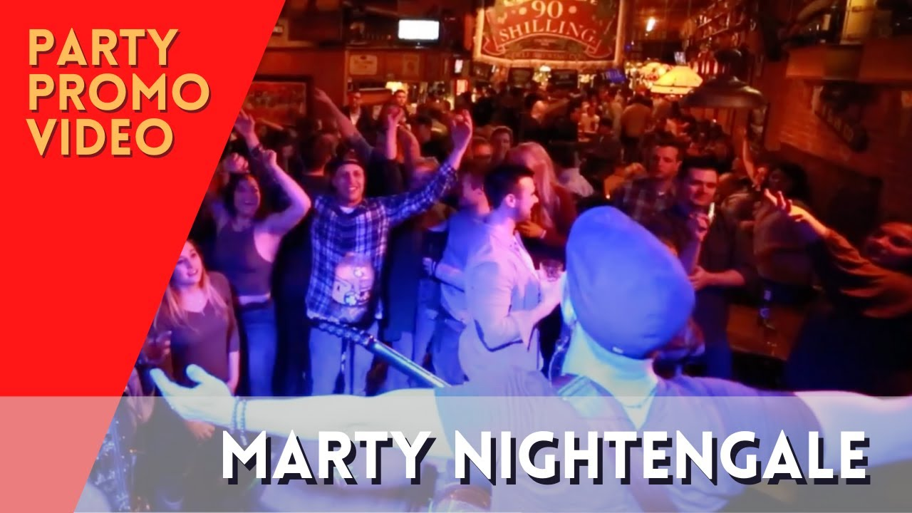 Party Promo - Marty Nightengale