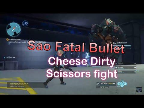 Sword Art Online Fatal Bullet Guide: Dirty Scissor 9 Terminals Easy Boss Guide
