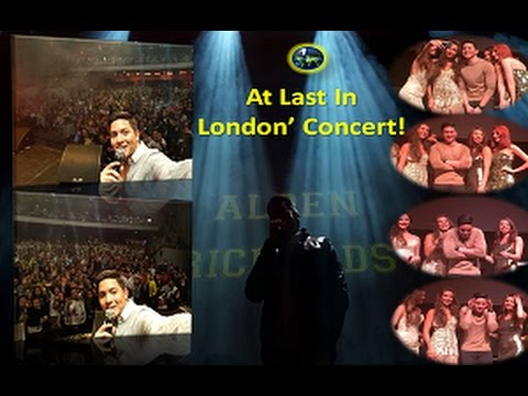"""At Last, In London!"" Team Abroad in London are in full force to support ""ALDEN"" at Troxy"
