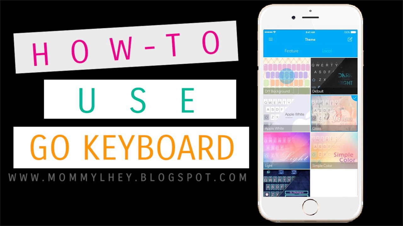 how to add a keyboard on iphone