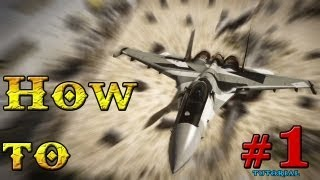 HOW TO JET #1 Dodging Missiles - Battlefield 3