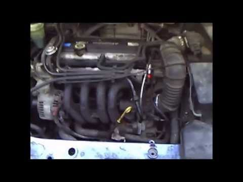 Idle Air Control Valve cleaning Ford Focus 14 16v  YouTube