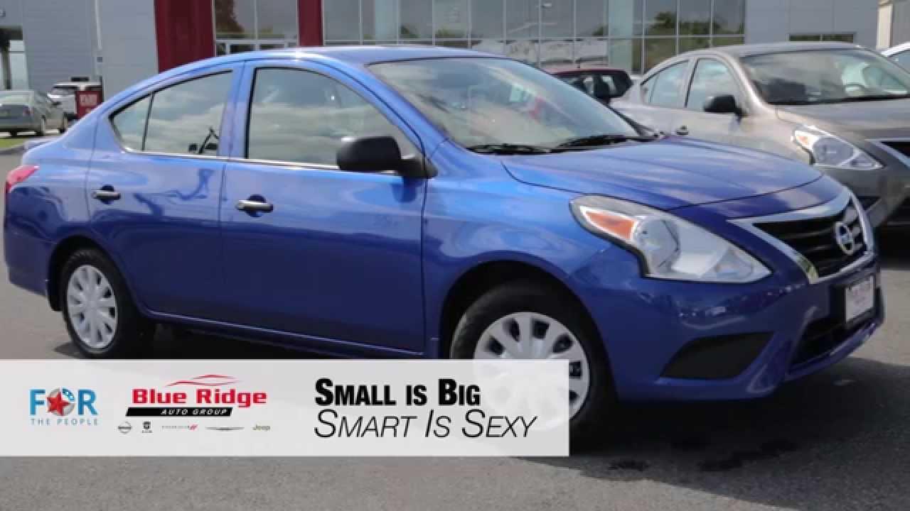 Blue Ridge Nissan >> 2015 Nissan Versa Sedan Blue Ridge Nissan