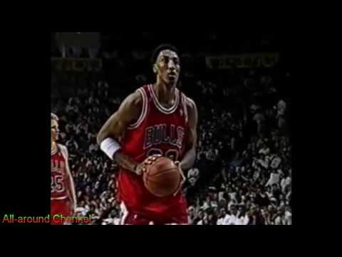 Scottie Pippen 31 points @ Indiana Pacers 1994-95