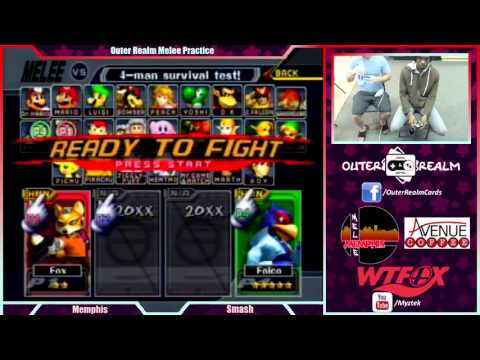 [Melee] Myztek (Fox) vs Tron (Falco) $20 Money Match |