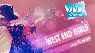 West End Girls in the style of Pet Shop Boys | Karaoke with Lyrics