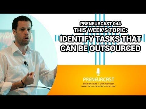 Outsourcing Tips - Mechanics vs Core Business [Preneurcast044]