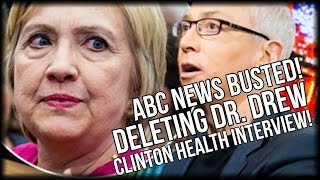 BUSTED AGAIN! ABC NEWS DELETES DR. DREW INTERVIEW ON HILLARY CLINTON HEALTH CONCERNS(Sub for more: http://nnn.is/the_new_media | Kristinn Taylor for the Gateway Pundit reports The Dr. Drew interview was first reported on by Infowars stating, ..., 2016-08-19T04:57:09.000Z)