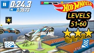 Hot Wheels Race Off - Level 50 to 60 All Levels 3 Stars ⭐⭐⭐